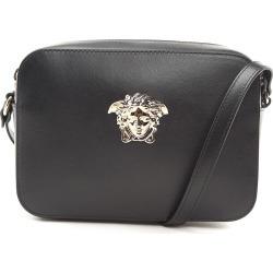 Versace Palazzo Leather Shoulder Bag
