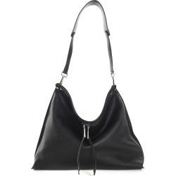 Jil Sander Neat Lg Pebbled-leather Shoulder Bag