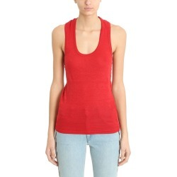 Isabel Marant Étoile Red Koby Top found on Bargain Bro India from italist.com us for $91.00
