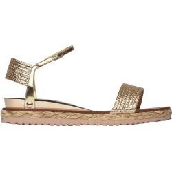 Casadei Daytime Gold Sandals