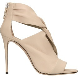 Casadei Pink Leather Sandals