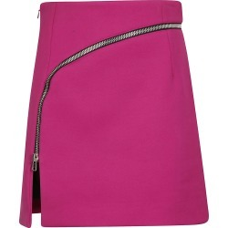 Alexander Wang Curved Zip Detail Mini Skirt found on MODAPINS from Italist for USD $624.92