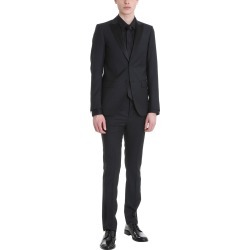 Mauro Grifoni Black Wool Smoking Suit found on Bargain Bro India from italist.com us for $693.00