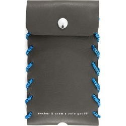 ANCHOR & CREW - Falcon Grey Standen Leather & Rope Phone Case found on Bargain Bro UK from Wolf and Badger