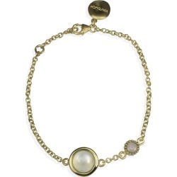 Vintouch Italy - Satellite Gold Vermeil Moonstone & Opal Bracelet found on Bargain Bro from Wolf & Badger US for USD $103.36
