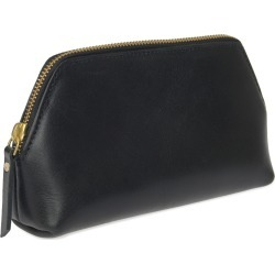 VIDA VIDA - Solar Black Leather Make-Up Bag found on Bargain Bro UK from Wolf and Badger