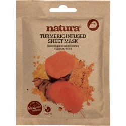 natura - Turmeric Sheet Mask found on Makeup Collection from Wolf and Badger for GBP 5.12