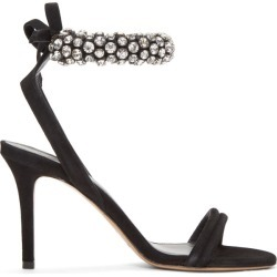 Isabel Marant Black Alrin Sandals