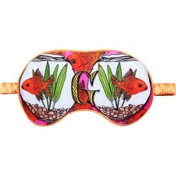 Jessica Russell Flint - G For Goldfish - Silk Eye Mask found on Bargain Bro from Wolf & Badger US for USD $53.20