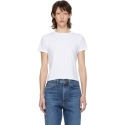 Agolde White Baby T-Shirt found on MODAPINS from ssense asia-pacific for USD $61.48
