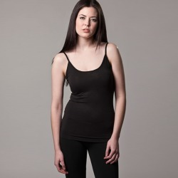 Bamboo camisole singlet in black found on Bargain Bro India from hardtofind.com.au for $21.33