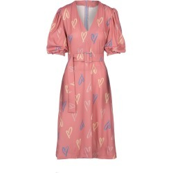 Undra Celeste New York - Scribble Heart Belted Midi Dress found on MODAPINS from Wolf & Badger US for USD $275.00