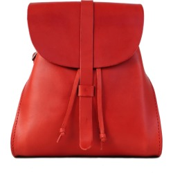 THE DUST COMPANY - Mod 130 Backpack In Cuoio Red