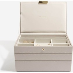 Taupe Classic Jewellery Box (Set 3) found on Bargain Bro India from hardtofind.com.au for $103.87