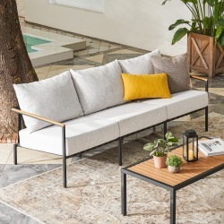 Sorrento Outdoor Sofa with Cover