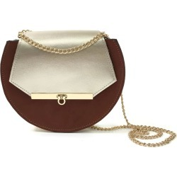 Angela Valentine Handbags - Loel Mini Military Bee Chain Bag Clutch Cognac & Champagne Gold found on Bargain Bro UK from Wolf and Badger