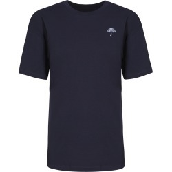 INGMARSON - Umbrella Embroidered T-Shirt Navy Men found on Bargain Bro UK from Wolf and Badger