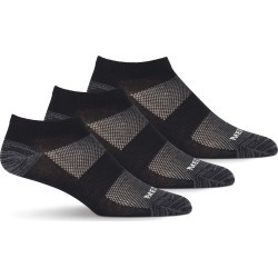 Merrell Men's Low Cut Cushioned Trainer Socks, 3-Pack found on Bargain Bro India from Eastern Mountain Sports for $16.00