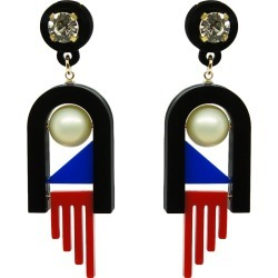 Gissa Bicalho - Handmade Acrylic Earrings Menphis found on Bargain Bro Philippines from Wolf & Badger US for $190.00