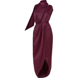 Louise Black - Elusive Dream Gown In Plum