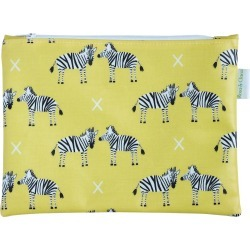 Rosa & Clara Designs - Zebras Cosmetic Bag found on Bargain Bro India from Wolf & Badger US for $30.00
