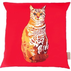 Chloe Croft London Limited - William Cat Cushion found on Bargain Bro UK from Wolf and Badger