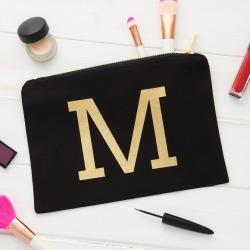 Personalised Initial Make Up Bag