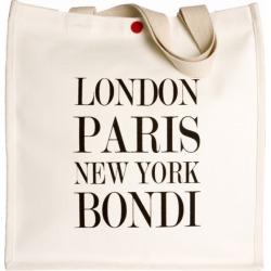 London Paris New York Bondi Tote found on Bargain Bro India from hardtofind.com.au for $30.85