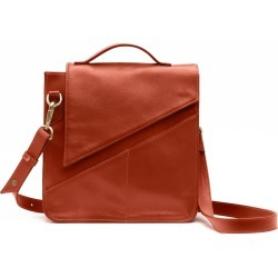 Holly & Tanager - Wanderer Leather Crossbody Purse In Orange found on MODAPINS from Wolf and Badger for USD $451.30