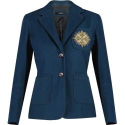 GISY - Tree Mandala Embroidered Canvas Blazer found on Bargain Bro India from Wolf & Badger US for $242.00