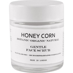 HONEY CORN - Gentle Face Scrub - Microdermabraision Exfoliator found on Makeup Collection from Wolf and Badger for GBP 26.17