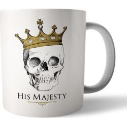 His Majesty coffee mug