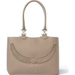 YiY - Wave Working Bag & Tote Personalizable In Antler Taupe