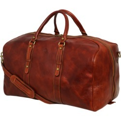 Marco Polo brown leather travel bag found on Bargain Bro India from hardtofind.com.au for $383.93