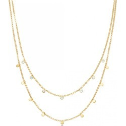 Astley Clarke - Moonstone Double Droplet Necklace found on MODAPINS from Wolf & Badger US for USD $291.00