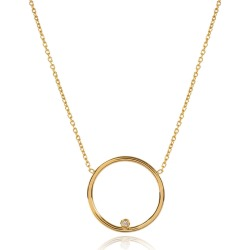 Matthew Calvin - Comet Diamond Necklace In Gold found on Bargain Bro from Wolf & Badger US for USD $135.28