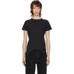 Agolde Black Baby T-Shirt found on MODAPINS from SSENSE for USD $60.00