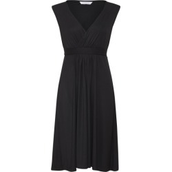 Capped sleeve jersey dress in black found on Bargain Bro Philippines from hardtofind.com.au for $81.88