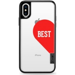 Couple's Classic Grip Case for iPhone Best Half Heart