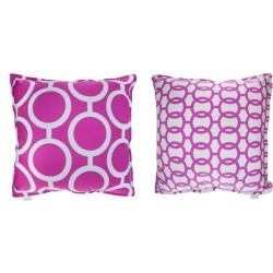Purple Chain Cushion Covers (set of 2) found on Bargain Bro India from hardtofind.com.au for $18.70