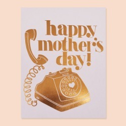 Mama phone Greeting Card found on Bargain Bro India from hardtofind.com.au for $6.69