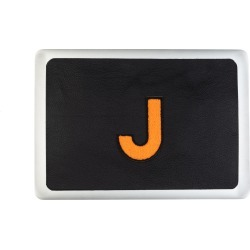 Laines London - Personalised Leather Laptop Sticker 15