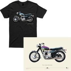 motorcycle t shirt   Triumph