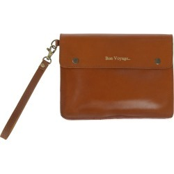 VIDA VIDA - Bon Voyage Tan Leather Travel Wallet found on Bargain Bro India from Wolf & Badger US for $82.00