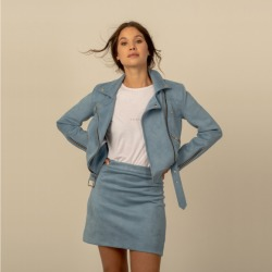 Gala skirt in chambray found on MODAPINS from hardtofind.com.au for USD $78.93