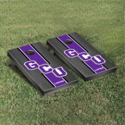 Grand Canyon Lopes Cornhole Game Set Onyx Stained Stripe