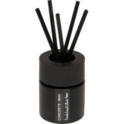 CONCRETE & WAX - Sandalwood & Black Pepper Diffuser With Concrete Tealight Holder Lid