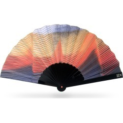 Khu Khu - Kingfisher Hand-Fan found on Bargain Bro UK from Wolf and Badger