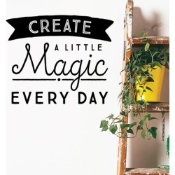 Create A Little Magic Removable Wall Sticker