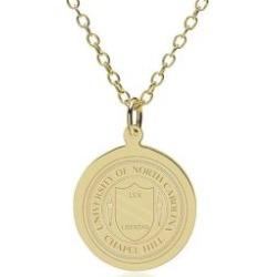 North Carolina 14K Gold Pendant and Chain